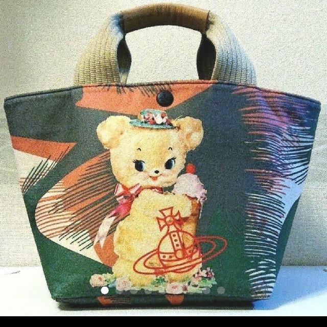 Vivienne Westwood(ヴィヴィアンウエストウッド)のたく様専用♪ヴィヴィアンウエストウッドクリスピーベアバック レディースのバッグ(ハンドバッグ)の商品写真