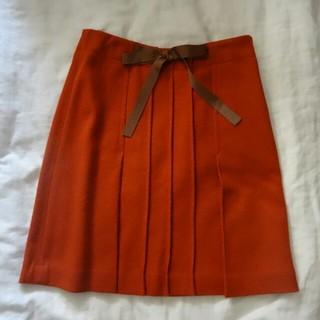 プーラフリーム(pour la frime)のプーラフリーム ウールスカート(ひざ丈スカート)