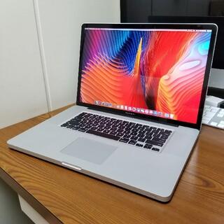 Apple - 超美品 Macbook Pro 17インチ SSD128GB office付