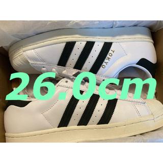アディダス(adidas)のadidas スーパースター 風神雷神 26.0cm(スニーカー)