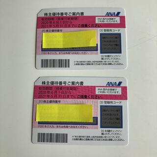 ◆ ANA 株主優待券 2枚 (その他)