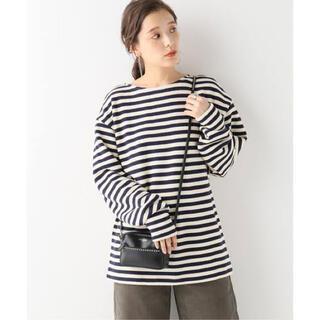 IENA -  INSCRIRE/アンスクリア BORDER LONG SLEEVE Tシャツ