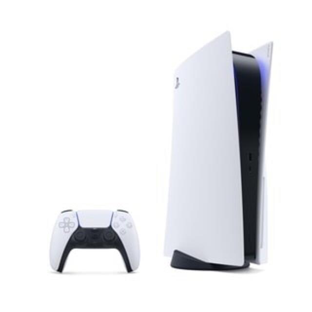 PlayStation(プレイステーション)の新品未開封 プレステーション5 本体 PS5 通常版 ディスクドライブ搭載モデル エンタメ/ホビーのゲームソフト/ゲーム機本体(家庭用ゲーム機本体)の商品写真
