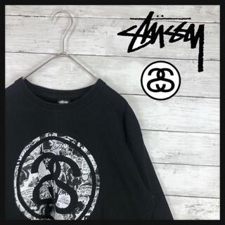 STUSSY - 【超希少90年代stuuyトレーナー】両面総ロゴ 希少Mexico製 定番
