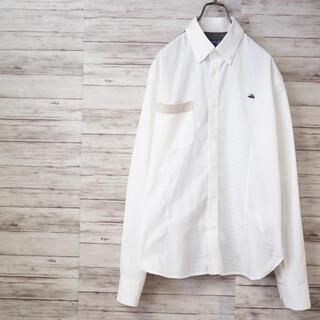 ジュンヤワタナベコムデギャルソン(JUNYA WATANABE COMME des GARCONS)のJUNYA WATANABE×BROOKS BROTHERS 再構築BDシャツ(シャツ)