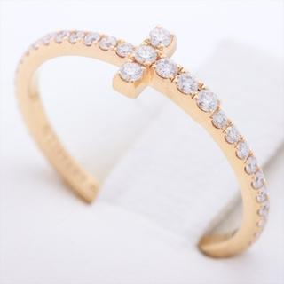ティファニー(Tiffany & Co.)のティファニー Tワイヤー フルサークル   YG ユニセックス リング・指(リング(指輪))
