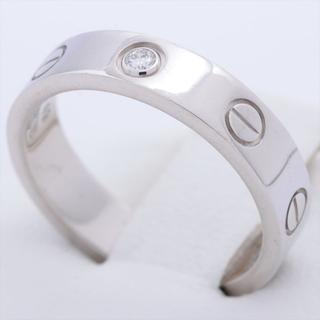 カルティエ(Cartier)のカルティエ ミニラブ 1P  49 WG ユニセックス リング・指輪(リング(指輪))