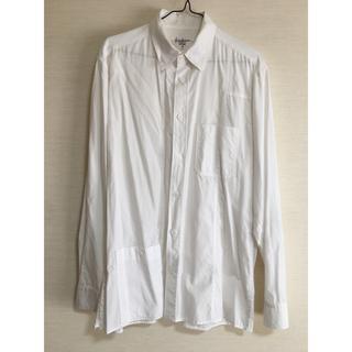 Yohji Yamamoto - 15SS Yohji Yamamoto Pour Homme 白コットンシャツ