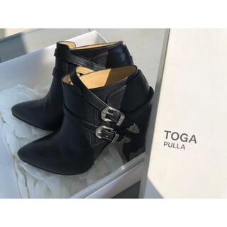 トーガ(TOGA)の【TOGAPULLA】ヒール ブーツ サイズ37(ブーツ)