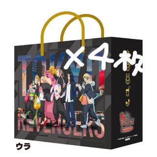 BANPRESTO - 東京リベンジャーズ ナムコ ショッパー 4枚