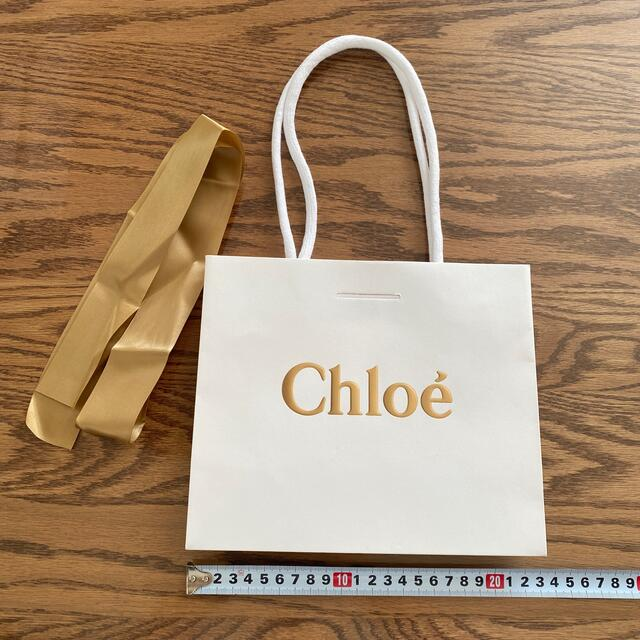Chloe(クロエ)のクロエ 紙袋 レディースのバッグ(トートバッグ)の商品写真