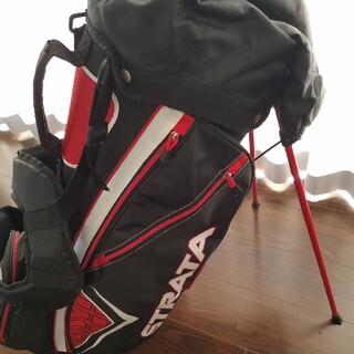 ゴルフバッグ ストラータ カバー3個付き(バッグ)