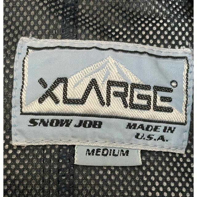 XLARGE(エクストララージ)のXLARGE アウター ブラック ジャケット ナイロン メンズのジャケット/アウター(ナイロンジャケット)の商品写真