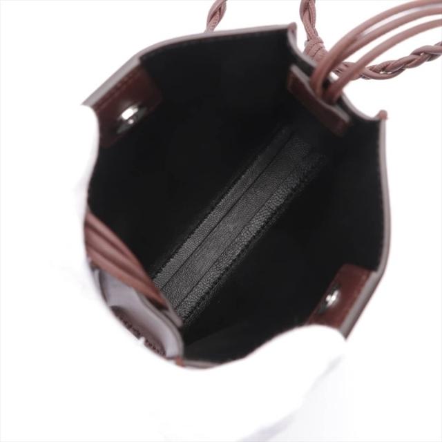 Jil Sander(ジルサンダー)のジルサンダー タングルSM レザー  ブラウン レディース ショルダーバッ レディースのバッグ(ショルダーバッグ)の商品写真