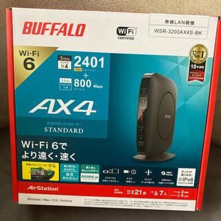バッファロー(Buffalo)のバッファロー WSR-3200AX4S-BK(PC周辺機器)