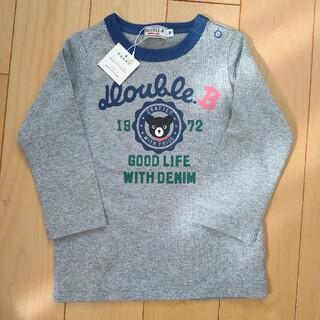DOUBLE.B - MIKIHOUSE ダブルビー 70-80 長袖Tシャツ ロンT 新品未使用