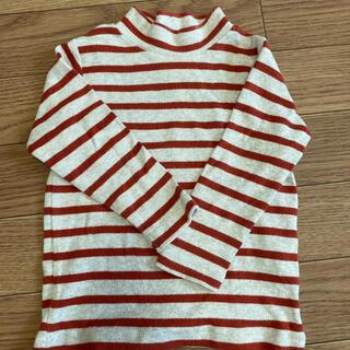 ムジルシリョウヒン(MUJI (無印良品))の無印 冬向き ロンT  80(Tシャツ/カットソー)