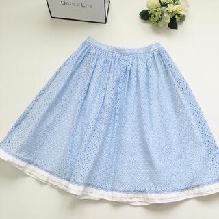 PRADA - 美品 プラダ PRADA カッティング フレア スカート