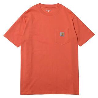 carhartt - carhartt ポケット付き 半袖Tシャツ Mサイズ