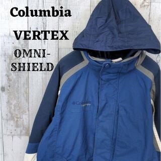 コロンビア(Columbia)のコロンビア マウンテンパーカー ブルー(青)インターチェンジ オムニシールド M(マウンテンパーカー)