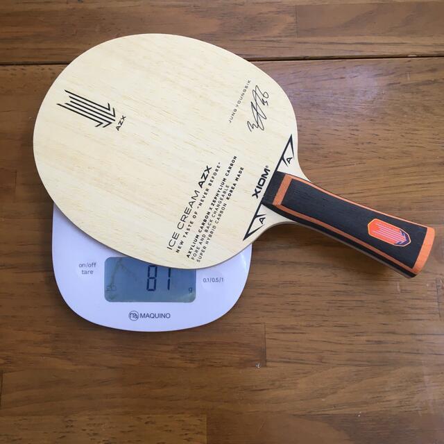 【新品未使用】アイスクリームazx スポーツ/アウトドアのスポーツ/アウトドア その他(卓球)の商品写真