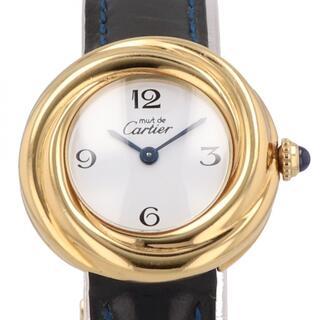 カルティエ(Cartier)のカルティエ マストトリニティ W1010844 クォーツ レディース 【中古】(腕時計)