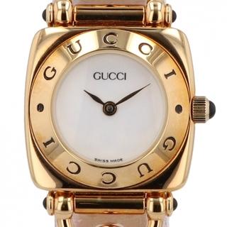 グッチ(Gucci)のグッチ 6300L クォーツ レディース 【中古】(腕時計)