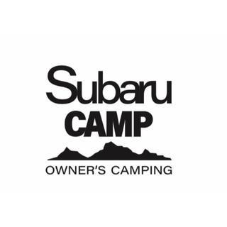 スバル(スバル)のSUBARU CAMP White sticker【白】(その他)