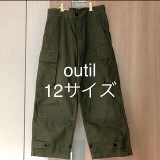 COMOLI - outil pantalon blesle 12サイズ