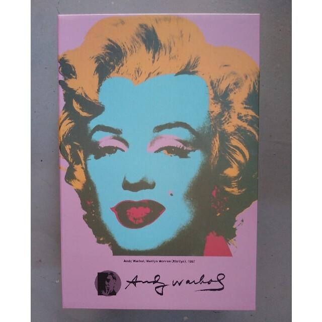 MEDICOM TOY(メディコムトイ)のBE@RBRICK Andy Warhol Marilyn Monroe#2  エンタメ/ホビーのおもちゃ/ぬいぐるみ(キャラクターグッズ)の商品写真
