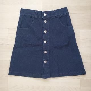 レトロガール(RETRO GIRL)のRETRO GIRL♡ デニムスカート(ひざ丈スカート)