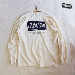 スタンダードカリフォルニア(STANDARD CALIFORNIA)の新品 US別注 CLARK FOAM クラークフォーム ロンT L(Tシャツ/カットソー(七分/長袖))