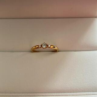 ヨンドシー(4℃)の4℃ 指輪 k18(リング(指輪))
