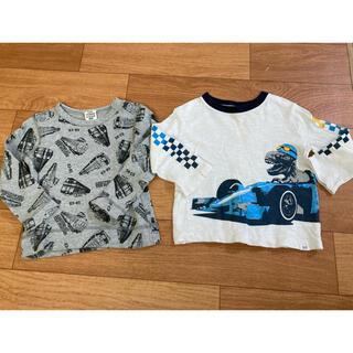 ベビーギャップ(babyGAP)のTシャツ 男の子 ロンT2枚セット 80cm gap(Tシャツ)