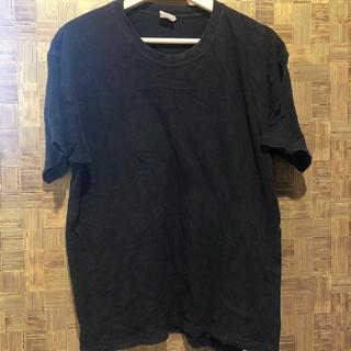 ヘインズ(Hanes)のヘインズ Tシャツ 半袖 ブラック 綿100%(Tシャツ/カットソー(半袖/袖なし))