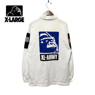 エクストララージ(XLARGE)の【X-LARGE】20AW XL-ARMY RUGBY SHIRT(ポロシャツ)