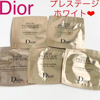 Christian Dior - 新品未使用 ディオール プレステージ ホワイト 化粧水 サンプル