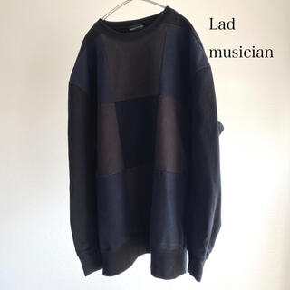 ラッドミュージシャン(LAD MUSICIAN)の【あとねく様 専用】Lad musician パネル柄スウェット 42 古着 (スウェット)