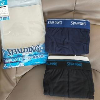 SPALDING - 新品未使用 2枚組 SPALDING メンズ ボクサーパンツ