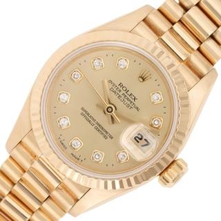 ロレックス(ROLEX)のロレックス ROLEX デイトジャスト 腕時計 レディース【中古】(腕時計)