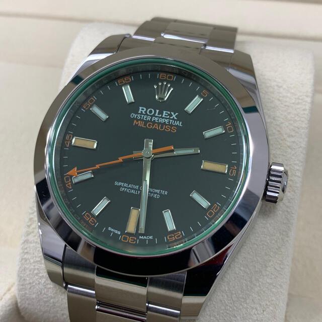 ROLEX(ロレックス)のyasu様専用 ロレックス 116400GV ミルガウス ① メンズの時計(腕時計(アナログ))の商品写真