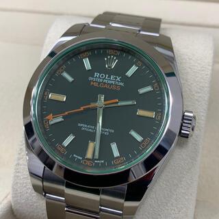 ROLEX - ロレックス 116400GV ミルガウス 黒文字盤 未使用品
