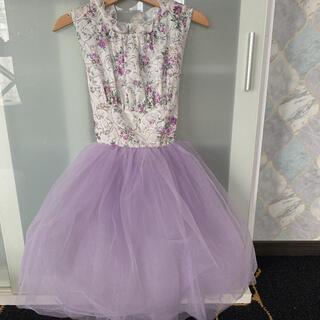 ザラキッズ(ZARA KIDS)のチュール ドレス ワンピース 美品(ワンピース)