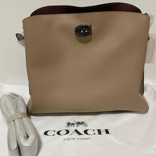 COACH - 【新品、正規品】COACH ウィロウショルダーバック C2590