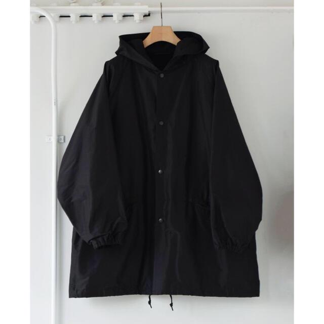 COMOLI(コモリ)の新品未使用 COMOLI 21SS コットンシルクフーデッドコート メンズのジャケット/アウター(ミリタリージャケット)の商品写真
