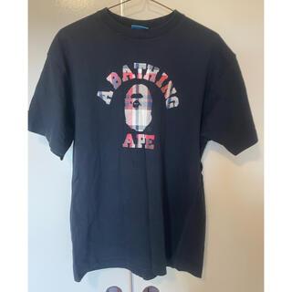A BATHING APE - ア ベイジング エイプ Tシャツ APE メンズ 半袖 BUSY WORKS