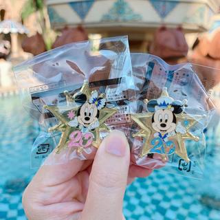 Disney - ディズニーシー 20周年 ピンバッジ アブーズバザール