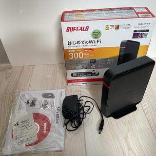 バッファロー(Buffalo)のBUFFALO WHR-300HP2(PC周辺機器)