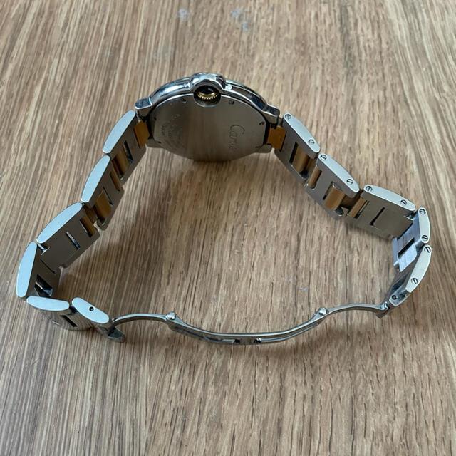 Cartier(カルティエ)のカルティエ バロンブルー MM ボーイズ   k18コンビ レディースのファッション小物(腕時計)の商品写真