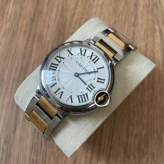 Cartier - カルティエ バロンブルー MM ボーイズ   k18コンビ